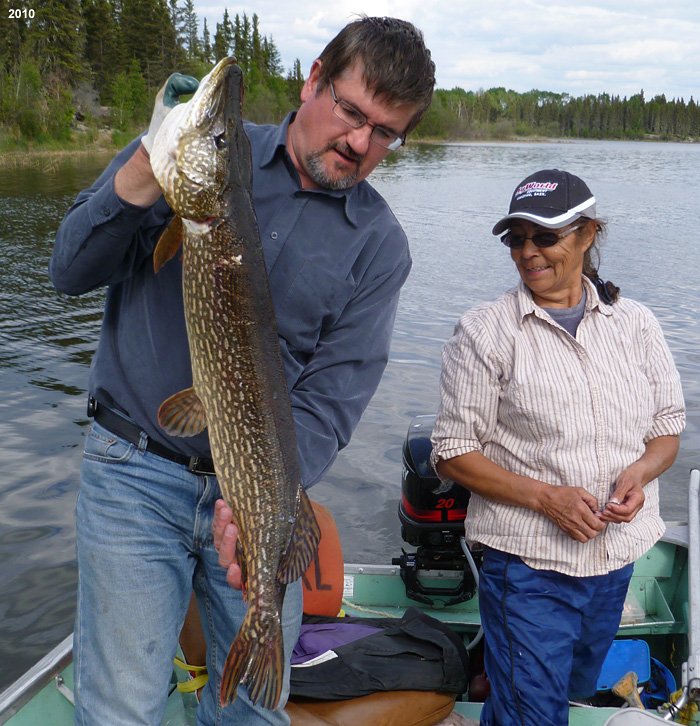 Monster Saskatchewan Northern Pike